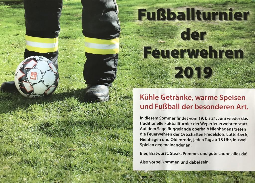 Fußballturnier-Flyer